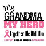 My Grandma My Hero Breast Cancer Shirts & Gifts