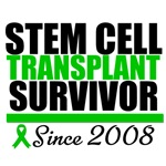 Stem Cell Transplant Survivor Since 2008 T-Shirts