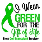 Stem Cell Transplant Green Ribbon T-Shirts