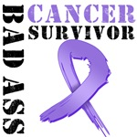 Hodgkin's Lymphoma Bad Ass Survivor Shirts