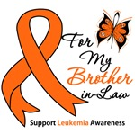 Leukemia Ribbon For My Brother-in-Law Shirts