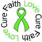 NON-HODGKIN'S FAITH LOVE CURE Shirts & Gifts