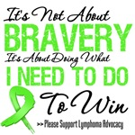 Lymphoma Bravery T Shirts and Gifts