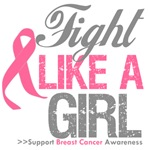 Breast Cancer Fight Like a Girl Shirts