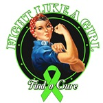 Rosie The Riveter Fight Like a Girl Lymphoma
