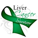 Survivor Ribbon Liver Cancer