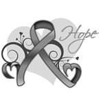 Hope Ribbon Brain Cancer