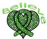Believe Heart - Lymphoma Shirts and Unique Gifts