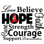 Blood Cancer Hope Collage Shirts