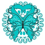 Ovarian Cancer Butterfly Shirts and Gifts