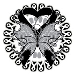 Melanoma Butterfly Shirts and Gifts