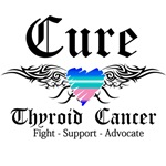 Cure Thyroid Cancer Shirts