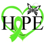 Hope Butterfly Lymphoma Shirts and Gifts