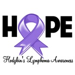Hope Ribbon Hodgkin's Disease Shirts and Gifts