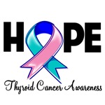 Hope Thyroid Cancer Shirts and Gifts