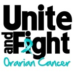 Unite and Fight Ovarian Cancer Shirts