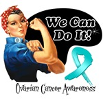 We Can Do It Ovarian Cancer Shirts