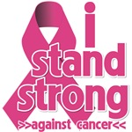 I Stand Strong Against Breast Cancer Shirts