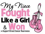 Niece Fought Like a Girl and Won Breast Cancer