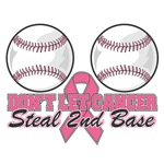 Dont Let Breast Cancer Steal 2nd Base Shirts