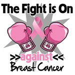 The Fight is On Breast Cancer Shirts