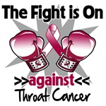 The Fight is On Against Throat Cancer Shirts