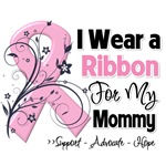 Mommy Pink Ribbon Breast Cancer Shirts