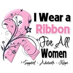 For All Women Breast Cancer Shirts