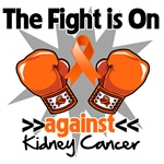 The Fight is On Against Kidney Cancer Shirts 