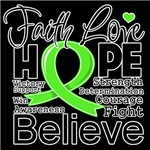 Faith Hope Lymphoma Shirts