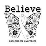 Believe - Bone Cancer Shirts and Gifts