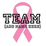 Team Breast Cancer Personalized Shirts