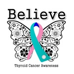 Believe - Thyroid Cancer Shirts and Gifts
