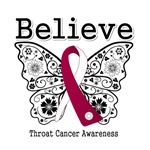 Believe - Throat Cancer Shirts and Gifts