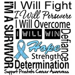Prostate Cancer Persevere Shirts