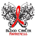 Butterfly Floral Blood Cancer Shirts and Gifts