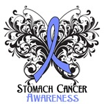Butterfly Floral Stomach Cancer Shirts