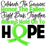 Lymphoma Celebrate Honor Fight Hope Shirts