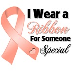 Ribbon Someone Special Uterine Cancer Shirts