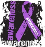 Pancreatic Cancer Awareness Grunge Ribbon Shirts