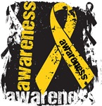 Neuroblastoma Awareness Grunge Ribbon Shirts