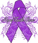 Pancreatic Cancer Flourish Shirts and Gifts