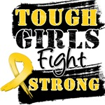 Childhood Cancer Tough Girls Fight Strong Shirts