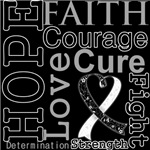 Hope Faith Courage Carcinoid Cancer Shirts