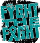 Fight The Fight Ovarian Cancer Shirts