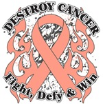Destroy Uterine Cancer Shirts and Gear