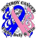 Destroy Male Breast Cancer Shirts and Gear