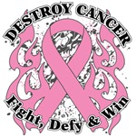 Destroy Breast Cancer Shirts and Gear