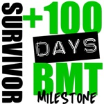 100 Days BMT Survivor Milestone Shirts