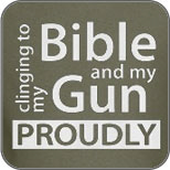 Clinging to my Bible & my Gun